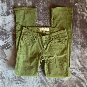 H&M Womens Pants Size 8 Olive Green